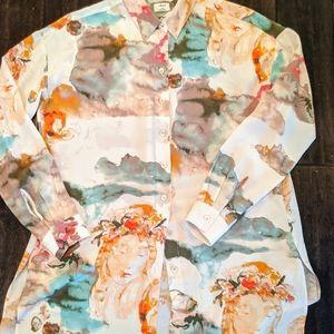 Wilfred Multicolor Silk Top 💕